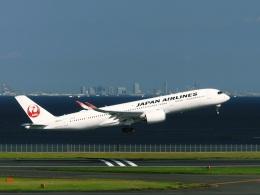 DVDさんが、羽田空港で撮影した日本航空 A350-941の航空フォト(飛行機 写真・画像)