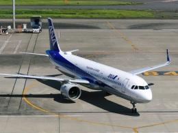DVDさんが、羽田空港で撮影した全日空 A321-272Nの航空フォト(飛行機 写真・画像)
