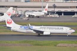 LEGACY-747さんが、羽田空港で撮影した日本トランスオーシャン航空 737-8Q3の航空フォト(飛行機 写真・画像)