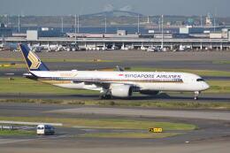 LEGACY-747さんが、羽田空港で撮影したシンガポール航空 A350-941の航空フォト(飛行機 写真・画像)