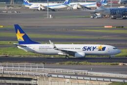 LEGACY-747さんが、羽田空港で撮影したスカイマーク 737-8Q8の航空フォト(飛行機 写真・画像)