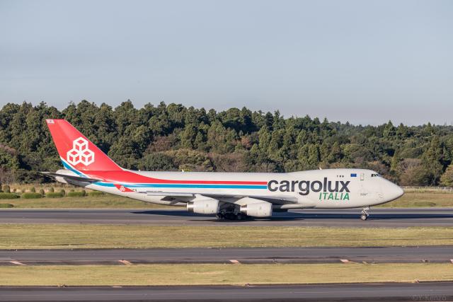 航空フォト:LX-UCV カーゴルクス・イタリア 747-400