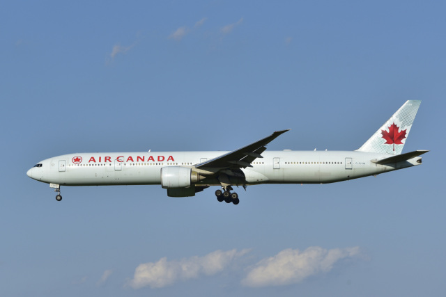 2021年10月02日に撮影されたエア・カナダの航空機写真