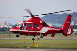 Wasawasa-isaoさんが、名古屋飛行場で撮影した名古屋市消防航空隊 AS365N3 Dauphin 2の航空フォト(飛行機 写真・画像)
