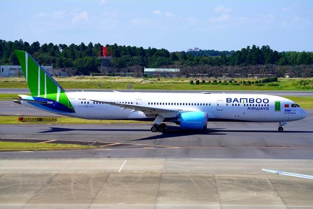 航空フォト:VN-A818 バンブー・エアウェイズ 787-9