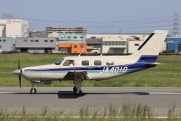 Hii82さんが、八尾空港で撮影した日本個人所有 PA-46-310P Malibuの航空フォト(飛行機 写真・画像)