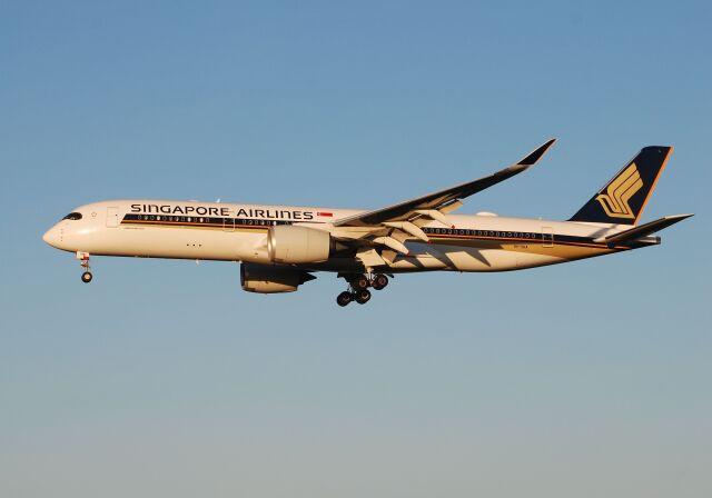 航空フォト:9V-SHA シンガポール航空 A350-900