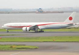 Syunbou13さんが、羽田空港で撮影した航空自衛隊 777-3SB/ERの航空フォト(飛行機 写真・画像)