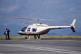 apphgさんが、静岡空港で撮影したヘリサービス 206B-3 JetRanger IIIの航空フォト(飛行機 写真・画像)