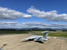 HNANA787さんが、花巻空港で撮影した航空自衛隊 C-2の航空フォト(飛行機 写真・画像)