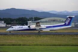 pringlesさんが、熊本空港で撮影したANAウイングス DHC-8-402Q Dash 8の航空フォト(飛行機 写真・画像)