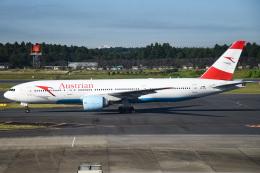 renseiさんが、成田国際空港で撮影したオーストリア航空 777-2Q8/ERの航空フォト(飛行機 写真・画像)