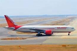 amagoさんが、関西国際空港で撮影したエア・インディア 777-237/LRの航空フォト(飛行機 写真・画像)