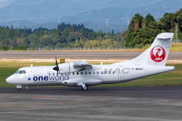SGさんが、鹿児島空港で撮影した北海道エアシステム ATR 42-600の航空フォト(飛行機 写真・画像)