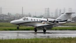 航空フォト:JA525A 安藤商会 525 CitationJet