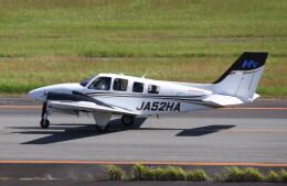 動物村猫君さんが、大分空港で撮影した本田航空 Baron G58の航空フォト(飛行機 写真・画像)
