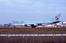 kumagorouさんが、成田国際空港で撮影した大韓航空 747-3B5の航空フォト(飛行機 写真・画像)