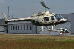 sepia2016さんが、栃木ヘリポートで撮影したヘリサービス 206B-3 JetRanger IIIの航空フォト(飛行機 写真・画像)
