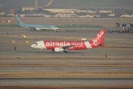 磐城さんが、仁川国際空港で撮影したエアアジア・ゼスト A320-232の航空フォト(飛行機 写真・画像)