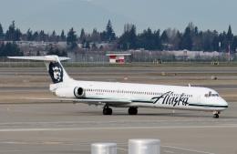TA27さんが、シアトル タコマ国際空港で撮影したアラスカ航空 MD-83 (DC-9-83)の航空フォト(飛行機 写真・画像)