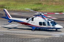 T spotterさんが、名古屋飛行場で撮影した静岡エアコミュータ AW109SPの航空フォト(飛行機 写真・画像)