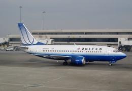TA27さんが、サンフランシスコ国際空港で撮影したユナイテッド航空 737-500の航空フォト(飛行機 写真・画像)