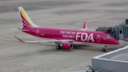 航空見聞録さんが、神戸空港で撮影したフジドリームエアラインズ ERJ-170-200 (ERJ-175STD)の航空フォト(飛行機 写真・画像)