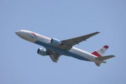 OS52さんが、成田国際空港で撮影したオーストリア航空 777-2Q8/ERの航空フォト(飛行機 写真・画像)