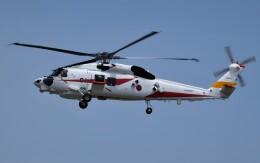 青い翼に鎧武者マークの!さんが、名古屋飛行場で撮影した三菱重工業 XSH-60Lの航空フォト(飛行機 写真・画像)