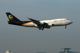 採れたてほしいもさんが、仁川国際空港で撮影したUPS航空 747-4R7F/SCDの航空フォト(飛行機 写真・画像)