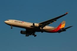 採れたてほしいもさんが、仁川国際空港で撮影したアシアナ航空 A330-323Xの航空フォト(飛行機 写真・画像)