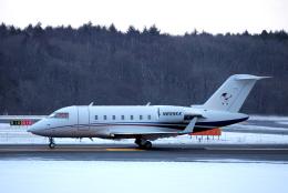 狛犬さんが、新千歳空港で撮影したユタ銀行 CL-600-2B16 Challenger 605の航空フォト(飛行機 写真・画像)