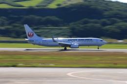 JA8565さんが、長崎空港で撮影した日本航空 737-846の航空フォト(飛行機 写真・画像)