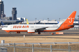 saoya_saodakeさんが、成田国際空港で撮影したチェジュ航空 737-82Rの航空フォト(飛行機 写真・画像)