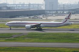 シュウさんが、羽田空港で撮影したガルーダ・インドネシア航空 777-3U3/ERの航空フォト(飛行機 写真・画像)