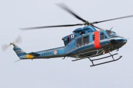 ゴンタさんが、札幌飛行場で撮影した北海道警察 412EPの航空フォト(飛行機 写真・画像)