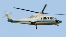 航空見聞録さんが、鈴鹿場外で撮影したエクセル航空 S-76A+の航空フォト(飛行機 写真・画像)