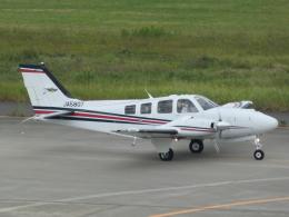 宮城の航空ファンさんが、仙台空港で撮影した航空大学校 Baron G58の航空フォト(飛行機 写真・画像)
