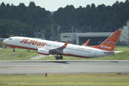 Sharp Fukudaさんが、成田国際空港で撮影したチェジュ航空 737-8ASの航空フォト(飛行機 写真・画像)