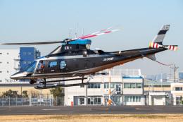 Tatsuya.Kさんが、東京ヘリポートで撮影した警視庁 A109S Trekkerの航空フォト(飛行機 写真・画像)