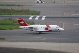VIPERさんが、羽田空港で撮影したREGA スイスエア-アンビュランス CL-600-2B16 Challenger 650の航空フォト(飛行機 写真・画像)