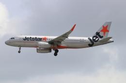 磐城さんが、シンガポール・チャンギ国際空港で撮影したジェットスター・アジア A320-232の航空フォト(飛行機 写真・画像)