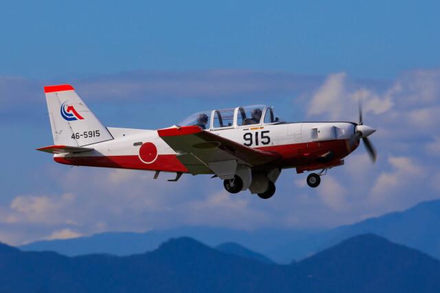 のっちさんが、静浜飛行場で撮影した航空自衛隊 T-7の航空フォト(飛行機 写真・画像)