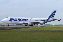 デルタおA330さんが、横田基地で撮影したナショナル・エアラインズ 747-412(BCF)の航空フォト(飛行機 写真・画像)