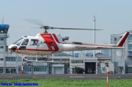 Chofu Spotter Ariaさんが、東京ヘリポートで撮影した朝日航洋 AS350B3 Ecureuilの航空フォト(飛行機 写真・画像)