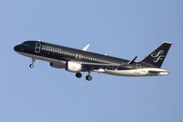 kan787allさんが、福岡空港で撮影したスターフライヤー A320-214の航空フォト(飛行機 写真・画像)