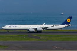 Tomo-Papaさんが、羽田空港で撮影したルフトハンザドイツ航空 A340-642の航空フォト(飛行機 写真・画像)