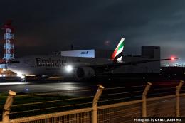 kina309さんが、羽田空港で撮影したエミレーツ航空 777-21H/LRの航空フォト(飛行機 写真・画像)