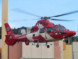 チダ.ニックさんが、静岡ヘリポートで撮影した浜松市消防航空隊 AS365N3 Dauphin 2の航空フォト(飛行機 写真・画像)