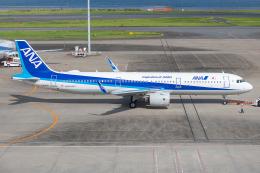 Tomo-Papaさんが、羽田空港で撮影した全日空 A321-272Nの航空フォト(飛行機 写真・画像)